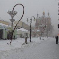 Свершилось: в Москве - настоящий снег! :: Андрей Лукьянов