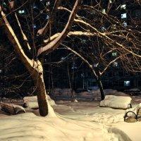 Зима пришла совсем нежданно... :: Анатолий Колосов