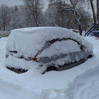 Свершилось: в Москве - настоящий снег! - Мне нравится. :: Андрей Лукьянов