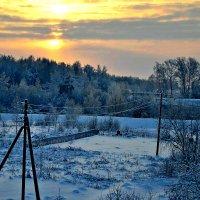 Утро в деревне! :: Михаил Столяров