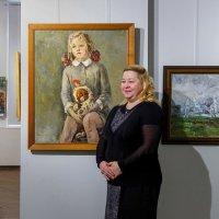 У своего портрета почти через 50 лет :: Абрис