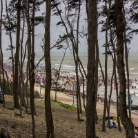 Дига.Пляж... :: Михаил Юрин
