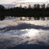 Речные облака :: Анна Воробьева