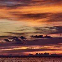 Январский закат в Тринидаде :: Минихан Сафин