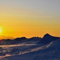 закат на Байкале :: Эдуард