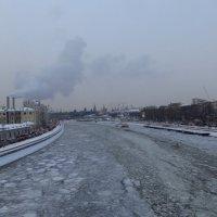 Москва-река зимой :: Андрей Лукьянов