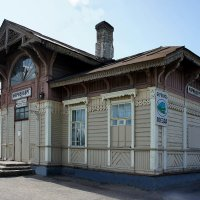 Железнодорожная станция Мариенбург :: Елена Павлова (Смолова)