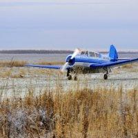 Як-18Т на пробеге :: vg154