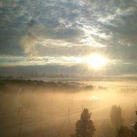 Рассвет в июле на урале :: Роман Захватошин