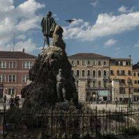 Monumento a Giuseppe Garibaldi a Venezia. :: Игорь Олегович Кравченко