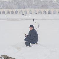 Поймал улыбку рыбака ) :: Олег Фролов
