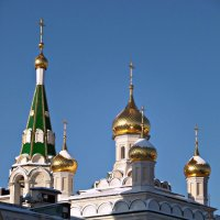 Монастырские Купола. :: Марина Харченкова