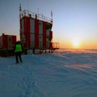 Метеонаблюдение за погодой. -27* и ветер порывы 15м/сек. :: Alexey YakovLev