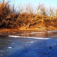 Замёрзшая река :: Татьяна Королёва