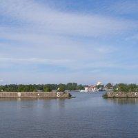 Кронштадт со стороны Финского залива :: Анна Воробьева