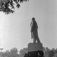 СССР. Южно-Сахалинск, площадь Ленина, август 1982 г. :: Игорь Олегович Кравченко