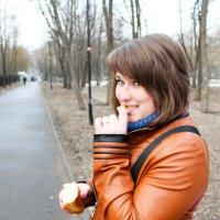 Прогулка в парке :: Евгения Трушкина