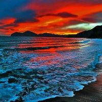 огонь небес забросил угли в море :: viton