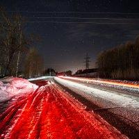 Ночная дорога :: Вячеслав Ложкин