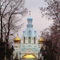 Храм святителя Димитрия Ростовского на 2-м христианском кладбище :: Александр Корчемный