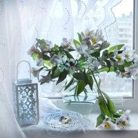 А за окном опять февральские метели... :: Валентина Колова