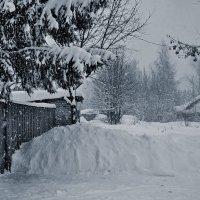 Снег идет :: Сергей Розанов