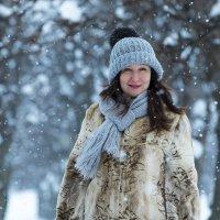 Зимний портрет :: Дмитрий Ветчинин