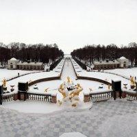 Зимний сезон снежных фонтанов..)) :: tipchik