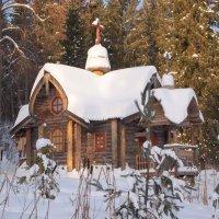 Купальня у источника  святого Иринарха в Кондаково :: ГАЛИНА Баранова