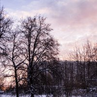 рассвет в городе :: Лариса Батурова