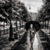 Девушка с зонтом :: Игорь Свет