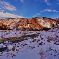 В верховьях сибирской реки :: Анатолий Иргл