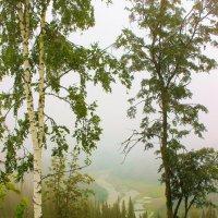 Утренний взгляд в долину :: Сергей Чиняев