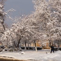 Утром зима, вечером осень :: Игорь Сикорский