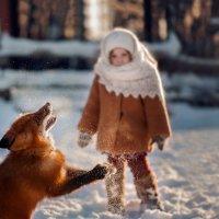 Детство с животными :: Uliana Menshikova