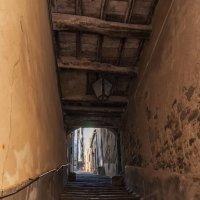 Кортона. Улицы-лестницы. :: Надежда Лаптева