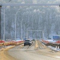Понтонный мост через Оку :: ninell nikitina