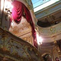 театральная ложа в Юсуповском дворце :: Анна Воробьева