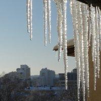А за окном зима... :: Бажина Нина