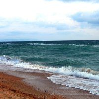 Черное море в октябре :: Алла ZALLA