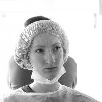 Портрет молодой женщины в больничном доме :: Михаил Зобов
