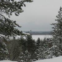 Вид с горы Сампо. :: Ирина Лебедева