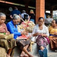 Балийские мастерицы :: Sanjar Agzamov