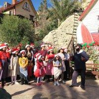 Рождественские  гуляния в деревне Попай :: Татьяна Нижаде