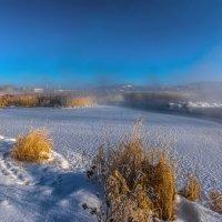 Утро на озере :: vladimir Bormotov