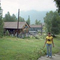 Турбаза в Артыбаше у Телецкого озера :: Олег Афанасьевич Сергеев