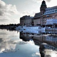 Стокгольм набережная старых судов Nybrokajen :: Swetlana V