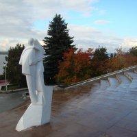 """Скульптура""""Влюбленные""""или """"Белый танец"""" :: марина ковшова"""