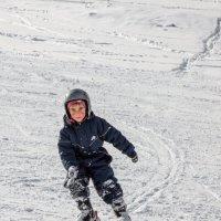 опытный горнолыжник :: Вадим Бурмистров