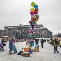 Предновогодняя площадь :: gribushko грибушко Николай